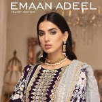 Emaan-Adeel Luxurious Embroidered Velvet Edition 2019