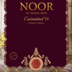 Noor Luxury Embroidered Wedding Collection by Sadia Asad